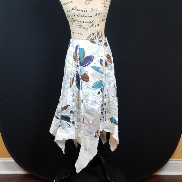 Animale Dresses & Skirts - Animale hanker scarf patchwork skirt M206:6:819